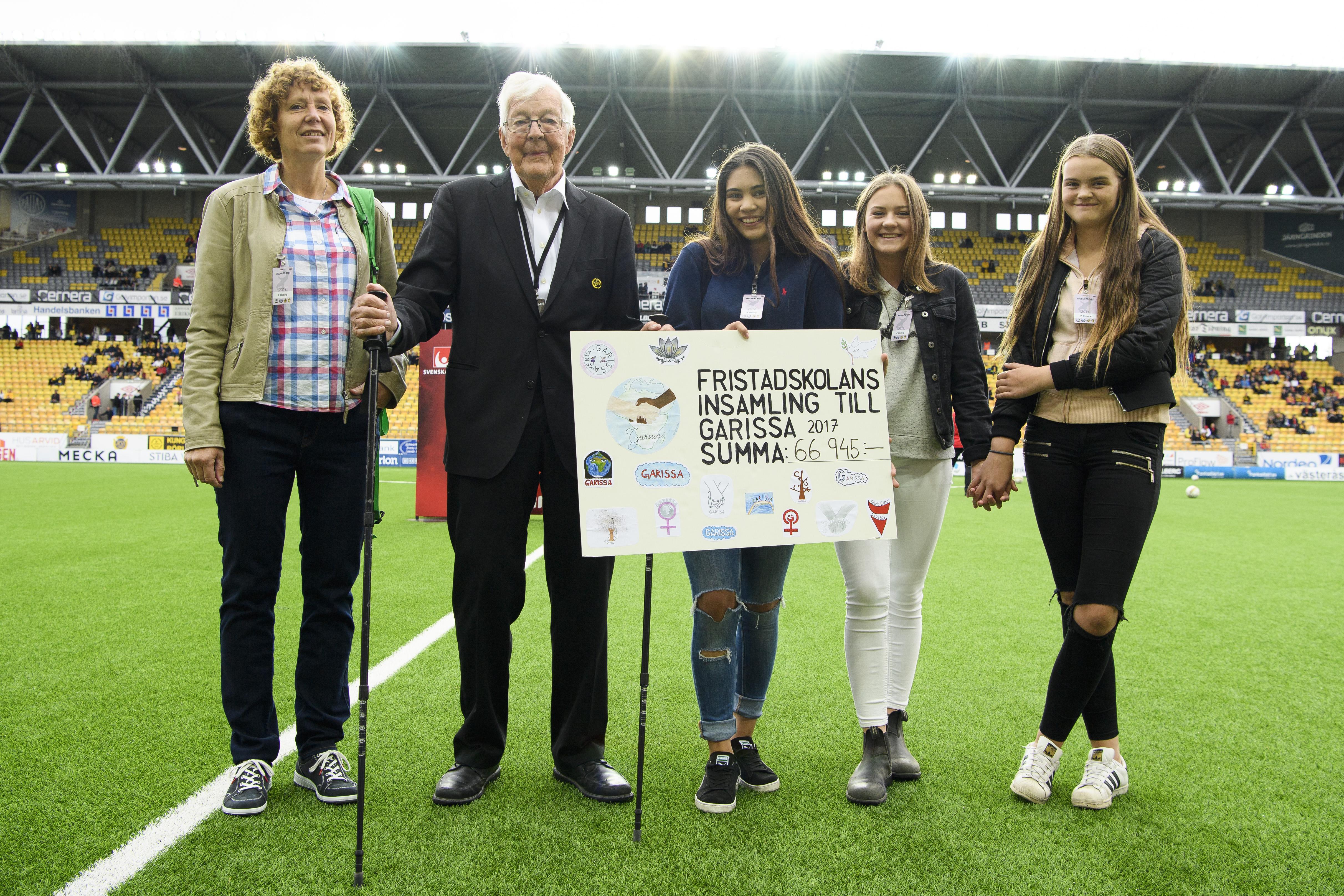 Fristadsskolans elever stödjer Garissa - IF Elfsborg cc81a157e0fc2